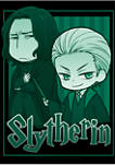 Boys 4-7  Slytherin Chibi Graphic T-Shirt