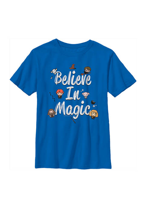 Harry Potter™ Boys 4-7 Believe In Magic Graphic