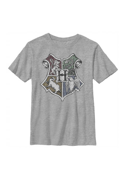 Harry Potter™ Boys 4-7 Hand Drawn Crest Graphic