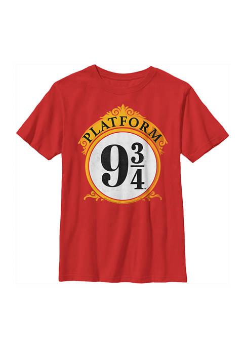 Boys 4-7  Ornate Platform Graphic T-Shirt