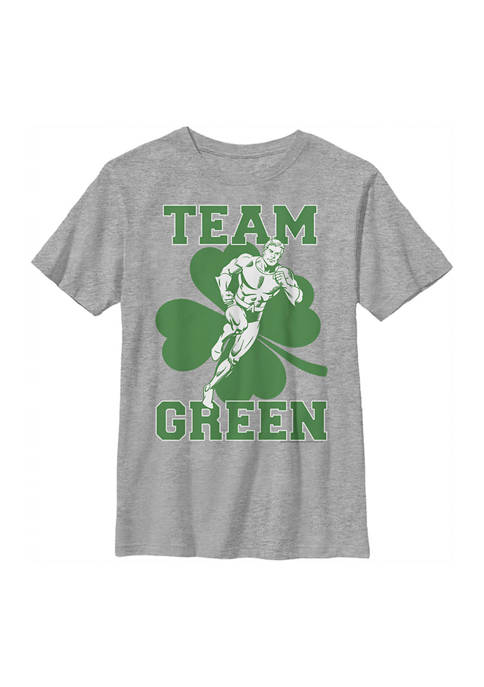 Boys 4-7  Aquaman Team Graphic T-Shirt