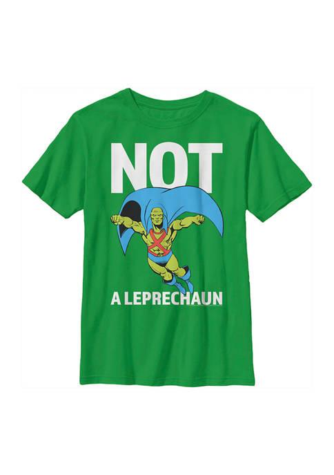 Boys 4-7  Martian Leprechaun Graphic T-Shirt