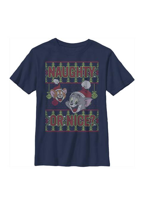 Boys 4-7 Naughty Or Nice T-Shirt