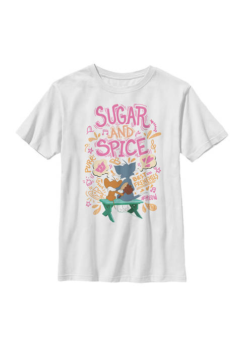 Cartoon Network Boys 4-7 Sugar Spice Graphic T-Shirt