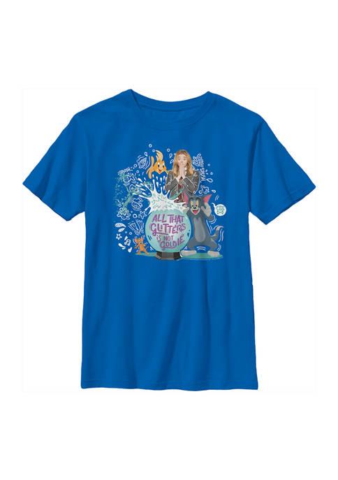 Boys 4-7  Glitter Goldie Graphic T-Shirt