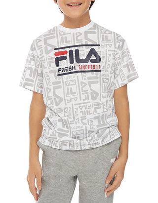 Boys 8 20 Allover Print Graphic T Shirt