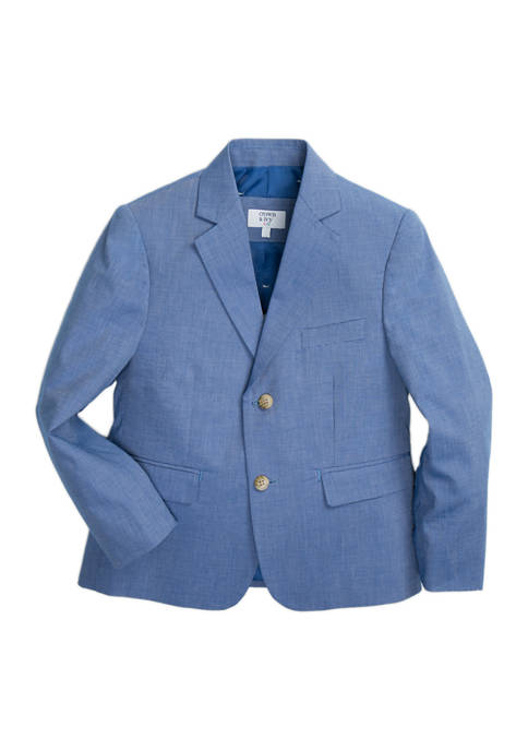 Crown & Ivy™ Boys 4-7 Chambray Blazer