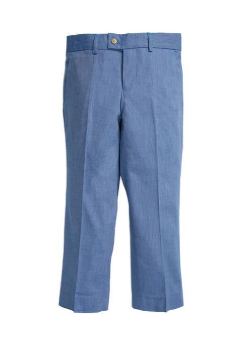 Crown & Ivy™ Boys 8-20 Chambray Dress Pants