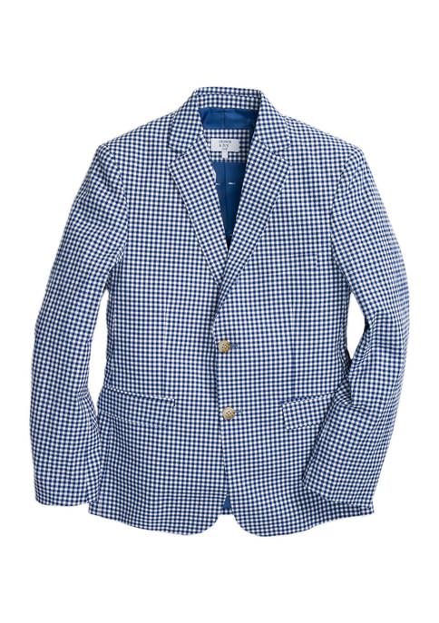Crown & Ivy™ Boys 8-20 Blue and White