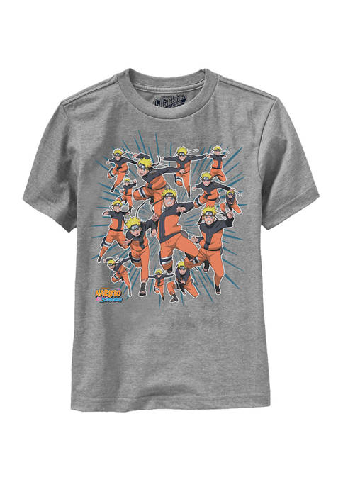 Ripple Junction Boys 8-20 Naruto Action Graphic T-Shirt