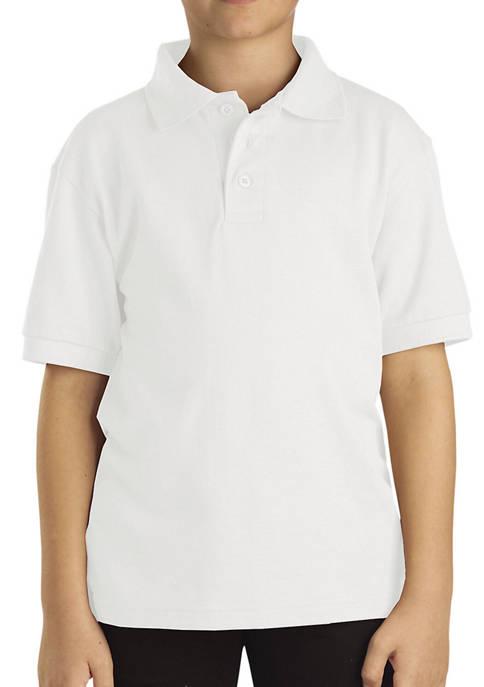 Dickies® Kids 4-7 Short Sleeve Piqué Polo Shirt