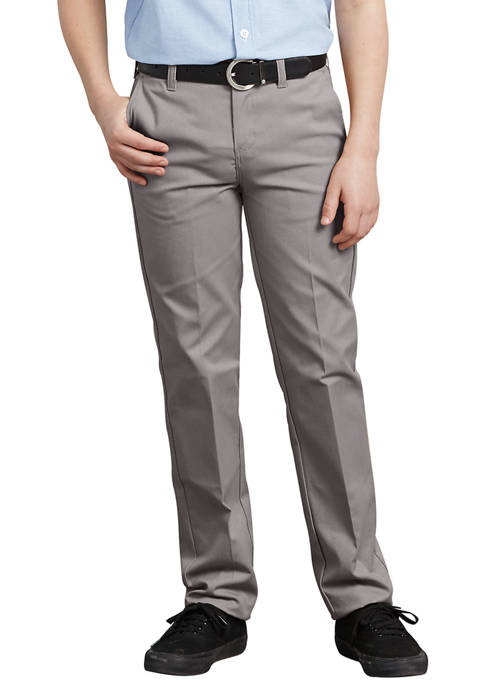 Dickies® Boys 8-20 FlexWaist Slim Fit Straight Leg