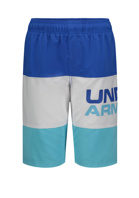 Under Armour® Boys 8-20 Triple Block Volley Shorts