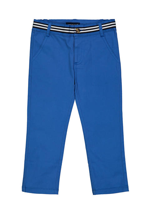 Andy & Evan Toddler Boys Twill Pants