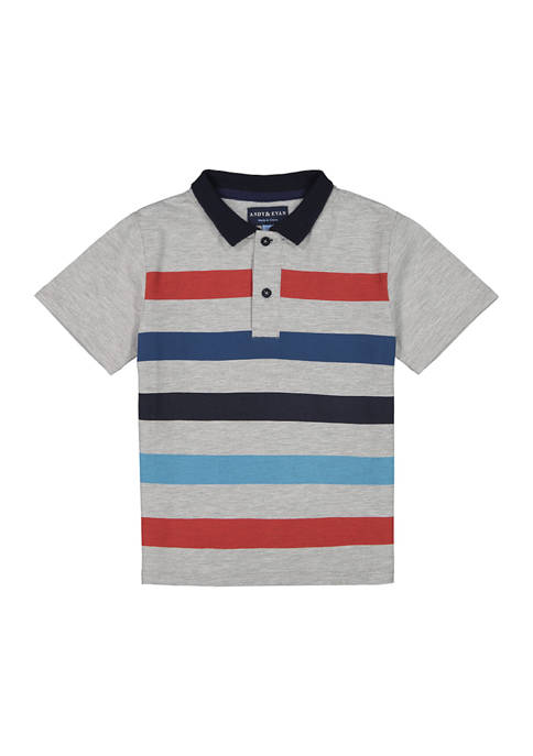 Andy & Evan Toddler Boys Piqué Polo Shirt