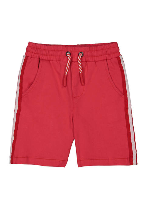 Andy & Evan Toddler Boys Twill Taped Shorts