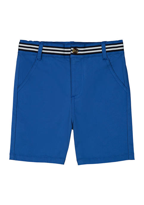 Andy & Evan Toddler Boys Chambray Shorts