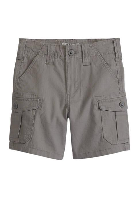 Boys 4-7 Khaki Cargo Shorts