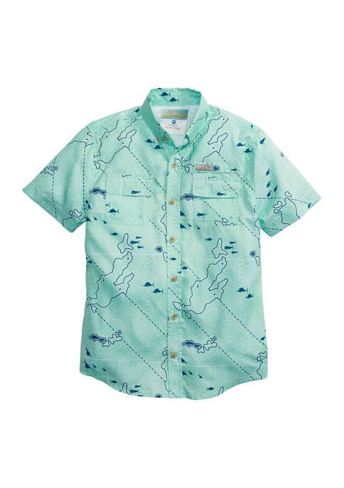 Ocean & Coast® Boys 8-20 Short Sleeve Printed