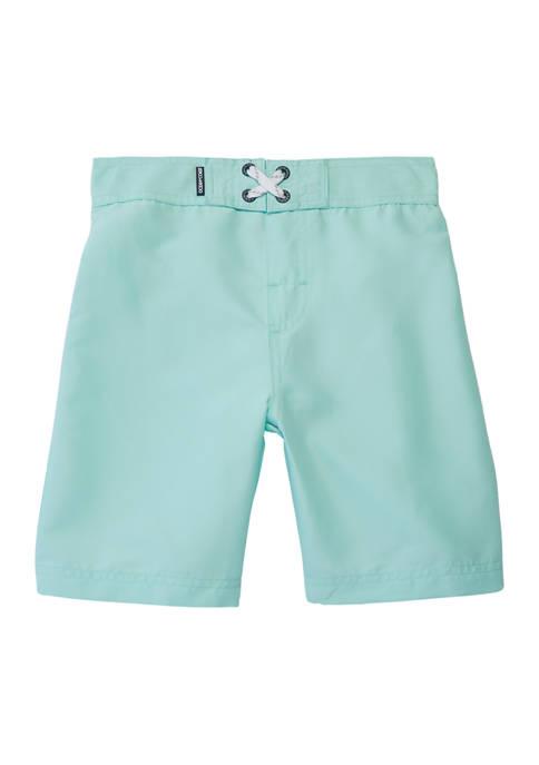 Boys 8-20 Solid Board Shorts