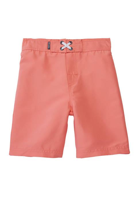 Boys 4-7 Solid Board Shorts