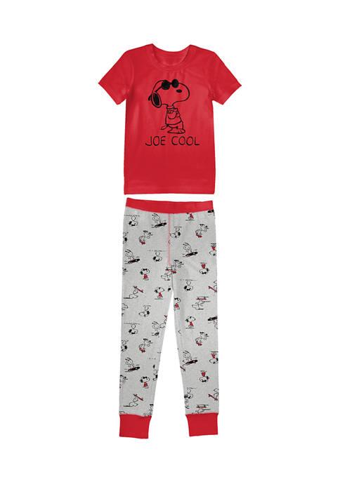 Peanuts® Boys 4-20 Short Sleeve T-Shirt and Leggings