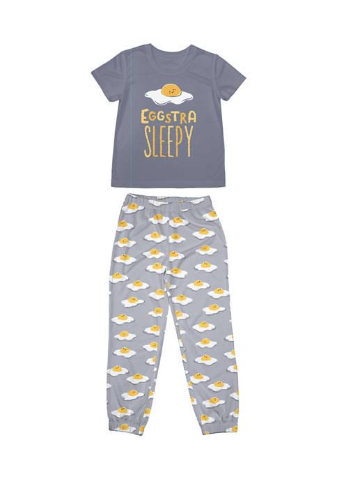 Nite Nite Boys 4-20 Eggs Pajama Set