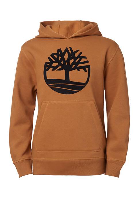 Timberland Boys 8-20 Tree Logo Graphic Hoodie