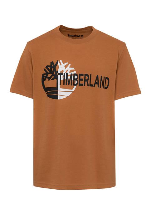 Boys 8-20 Blocked Logo Graphic T-Shirt