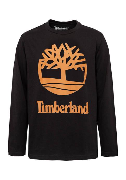 Boys 8-20 Long Sleeve Tree Logo Graphic T-Shirt
