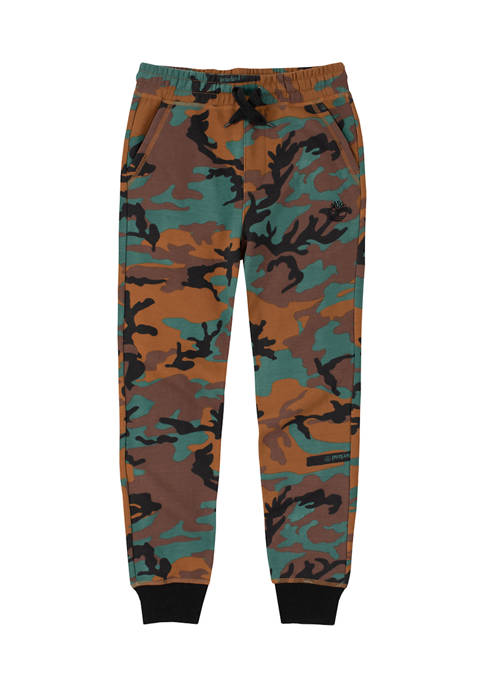 Boys 8-20 Camouflage Joggers