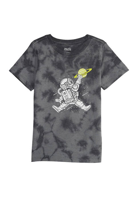 Boys 4-7 Short Sleeve Tie Dye Graphic T-Shirt