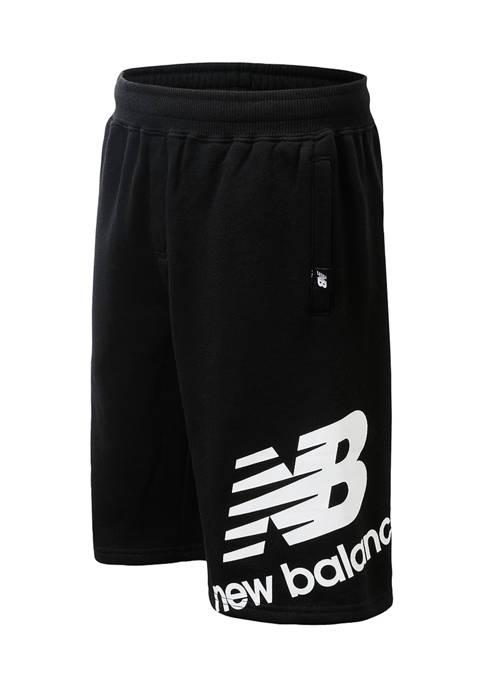 New Balance Boys 4-7 Fleece Shorts