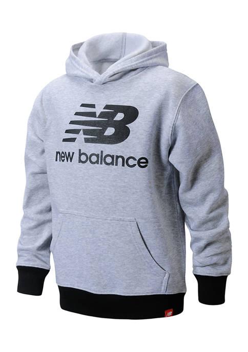 New Balance Boys 4-7 Fleece Hoodie