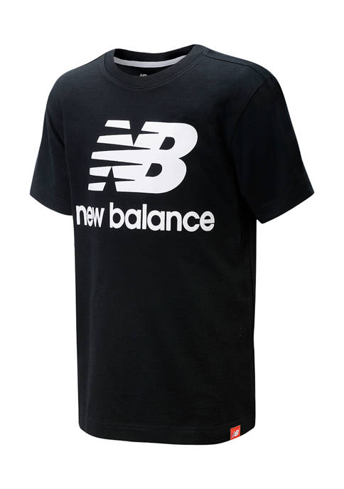 New Balance Boys 4-7 Short Sleeve Cotton T-Shirt