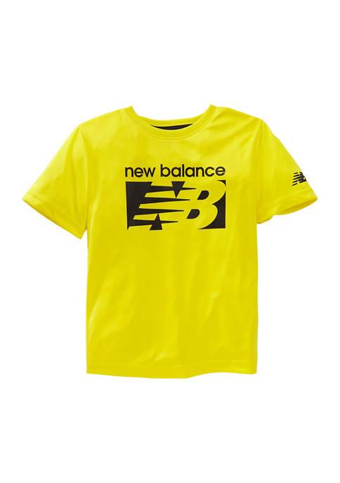 Boys 4-7 Short Sleeve Performance T-Shirt