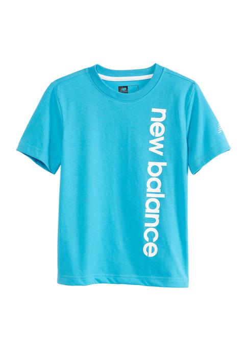 New Balance Boys 4-7 Short Sleeve Performance T-Shirt