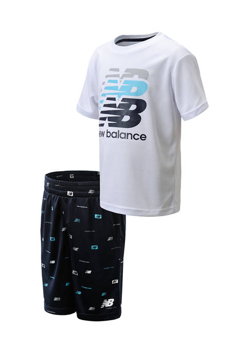 New Balance Boys 4-7 Active Set