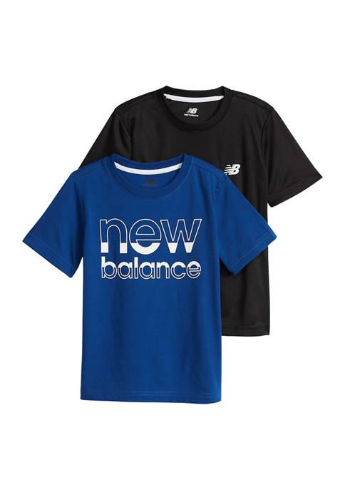 Boys 4-7 Large Logo T-Shirt Set