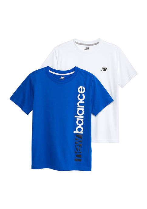 Boys 4-7  2 Pack Logo Graphic T-Shirts