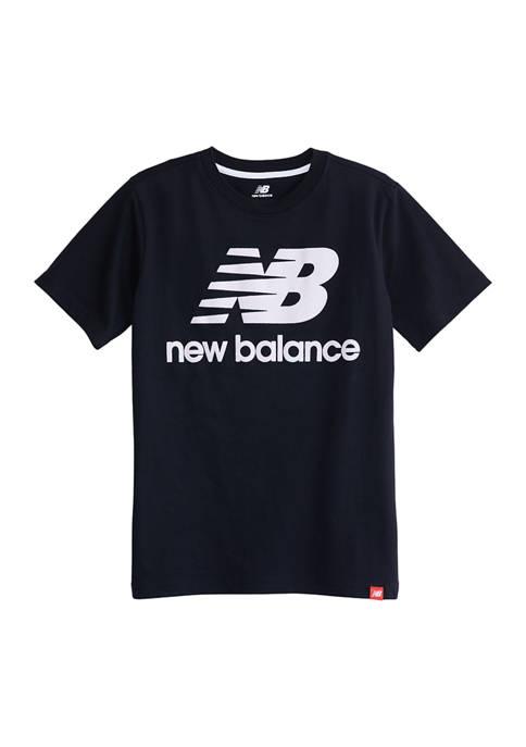 New Balance Boys 8-20 Short Sleeve Cotton Graphic