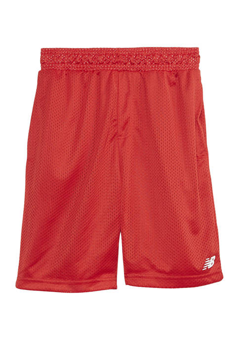 New Balance Boys 8-20 Mesh Shorts