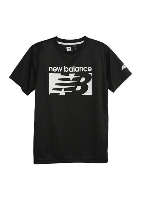 New Balance Boys 8-20 Short Sleeve Performance T-Shirt
