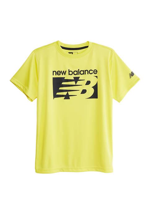 New Balance Boys 8-20 Short Sleeve Performance Graphic