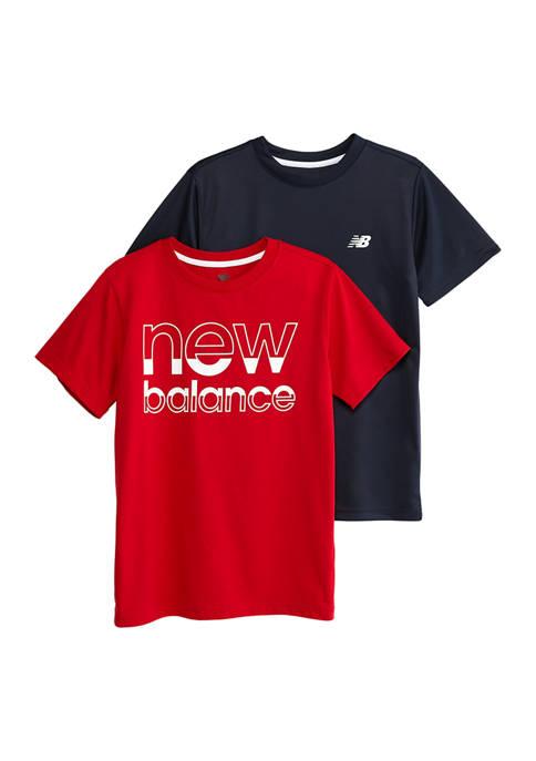 Boys 8-20 2 Pack Logo Graphic T-Shirts