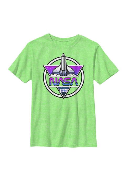 NASA Boys 8-20 Rocket Graphic T-Shirt