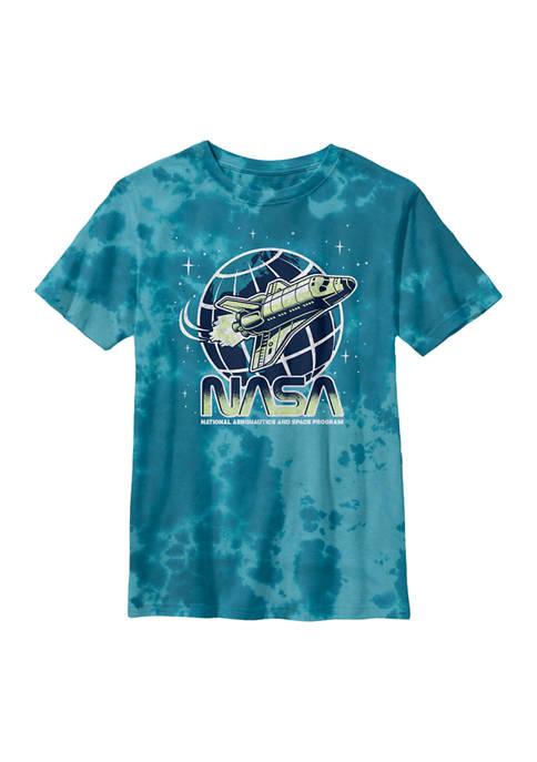 Boys 8-20 Short Sleeve Tie-Dye Logo Graphic T-Shirt