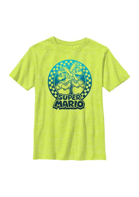 Boys 8-20 Super Mario Bros Short Sleeve Graphic T-Shirt