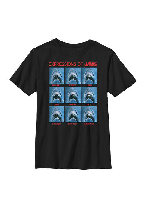 Boys 8-20 Expression of Jaws T-Shirt