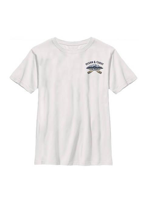 Ocean & Coast® Boys 8-20 Short Sleeve Camping